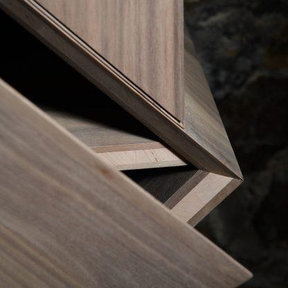 bois massif biseauté meuble naturel écologique