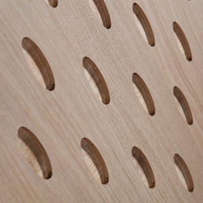 bois massif fraisé meuble naturel écologique