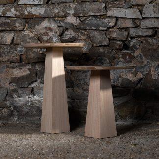 Table d'appoint chêne massif meuble bois naturel écologique
